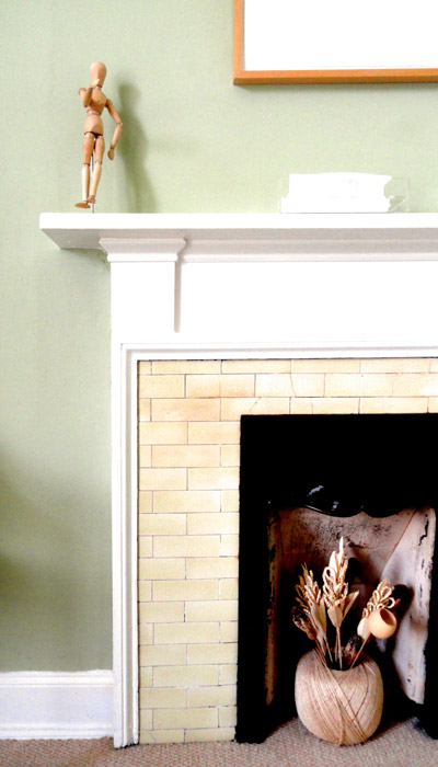 Sea View Tiled Fireplace